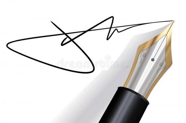Autographe célébrités